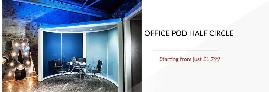 Office Pod Half Circle