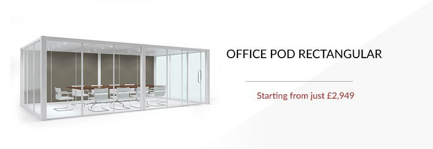 Office Pod Quiet Space Rectangular