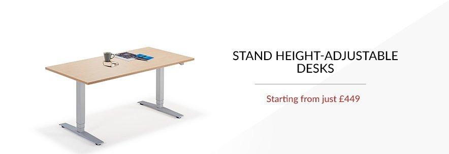Stand Height Adjustable Desks