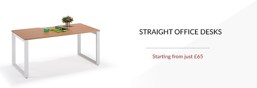 Straight Office Desks banner