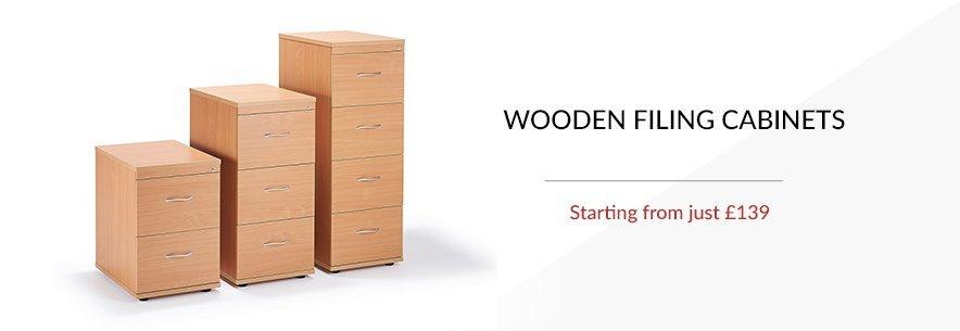 Filing Cabinets (wood)
