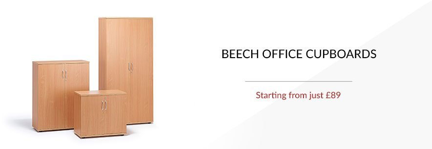 Beech Office Cupboards