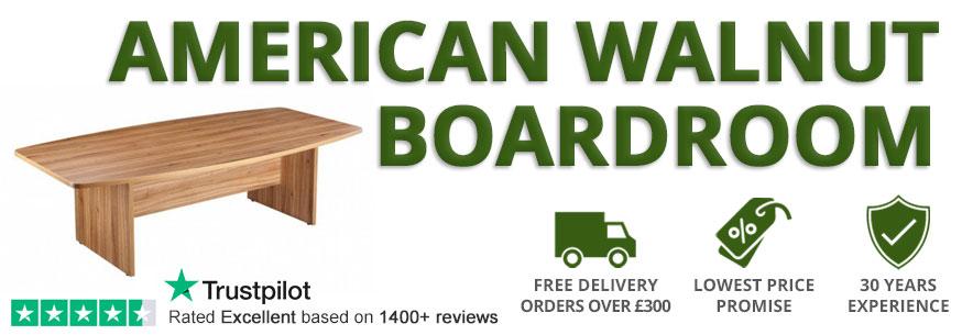 American Walnut Boardroom Tables