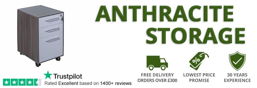 Anthracite Office Storage