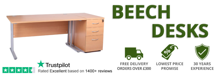 Beech Office Desks