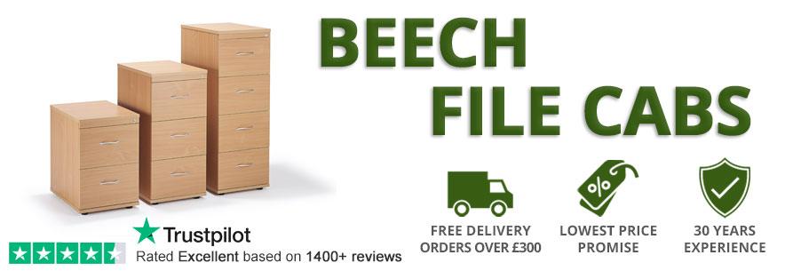 Beech Filing Cabinets