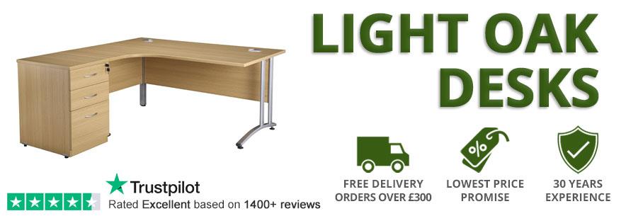 Light Oak Desks