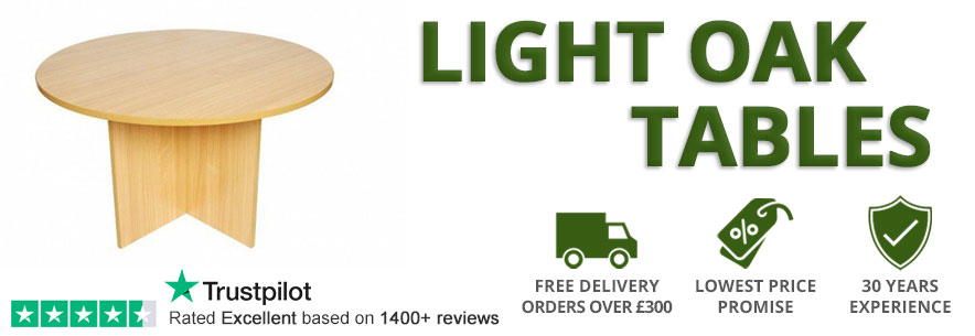 Light Oak Tables