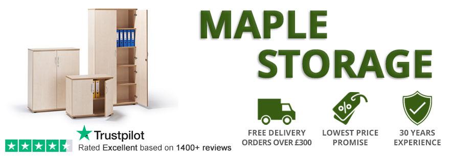 Maple Office Storage