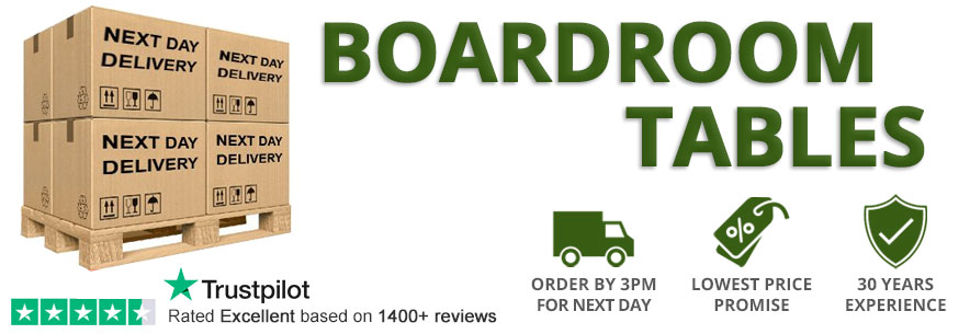 Next Day Delivery Boardroom Tables