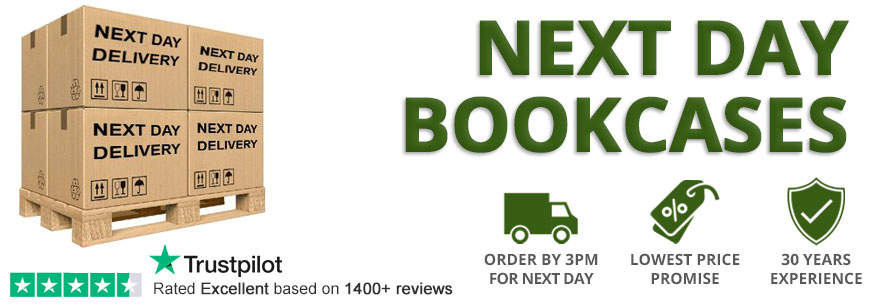 Next Day Delivery Bookcases