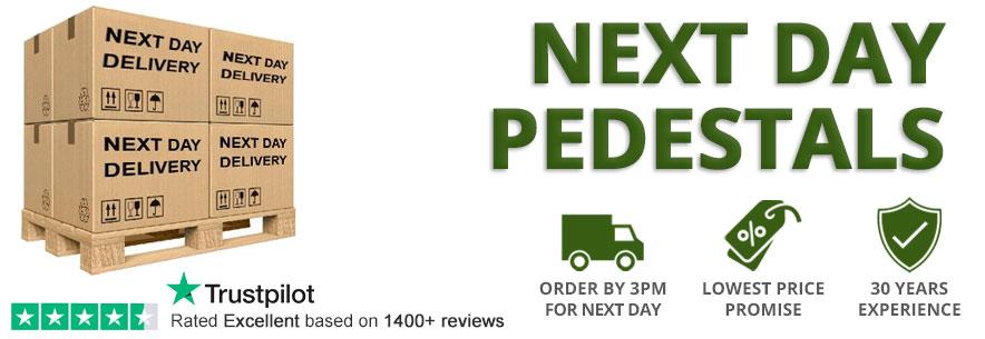 Next Day Delivery Pedestals