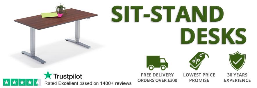 Sit-Stand Height Adjustable Desks