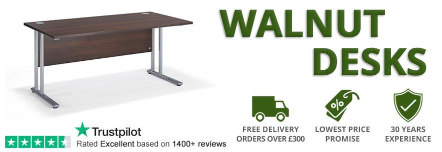 Walnut Office Desks