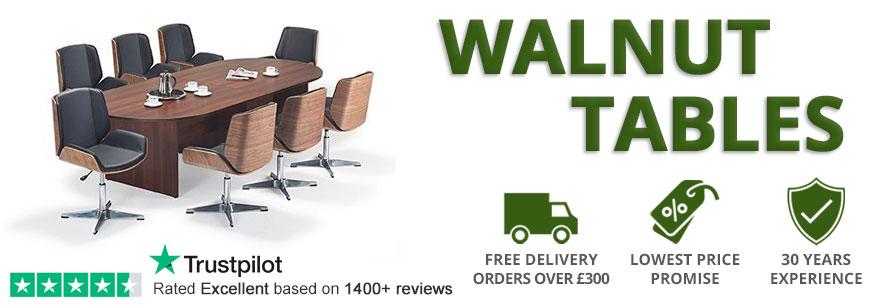 Walnut Boardroom Tables