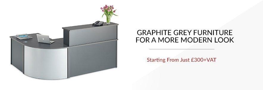 graphite reception desks banner