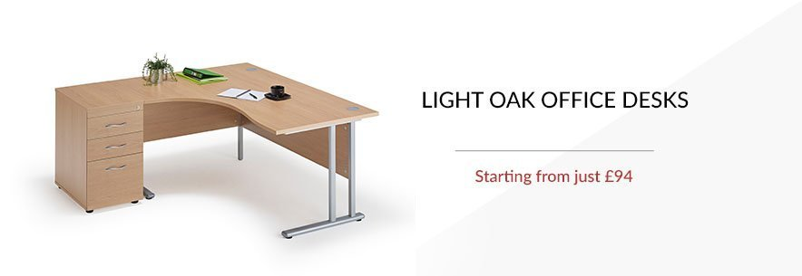 light oak office furniture