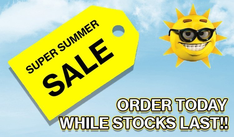 Summer Sale Starts Now!