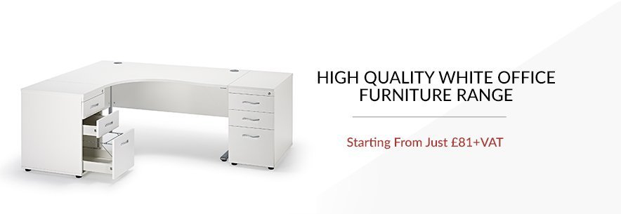 executive white office furniture